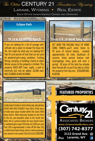 Laramie's Premier Real Estate