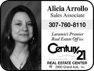 Alicia Arrollo Sales Associate