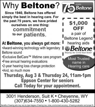 Why Beltone?