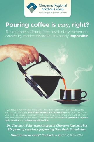 Pouring coffee is easy, right!
