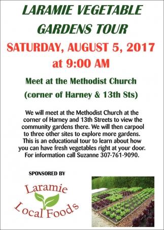 Laramie Vegetable Gardens Tour