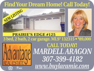 Find your dream home! Call today!