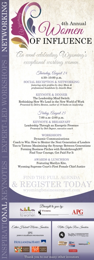 4th Annual Women of Influence