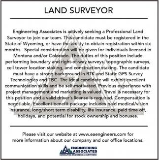 Land Suveyor