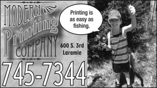 Printing is as easy as fishing.