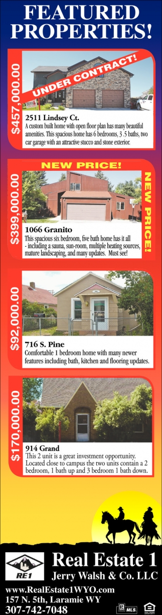 Featured Properties!