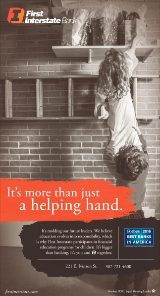 It's more than just a helping hand