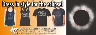 Dress in style for the eclipse!