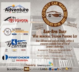 Cowboy Car Wars 200
