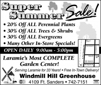 Super Summer Sale!