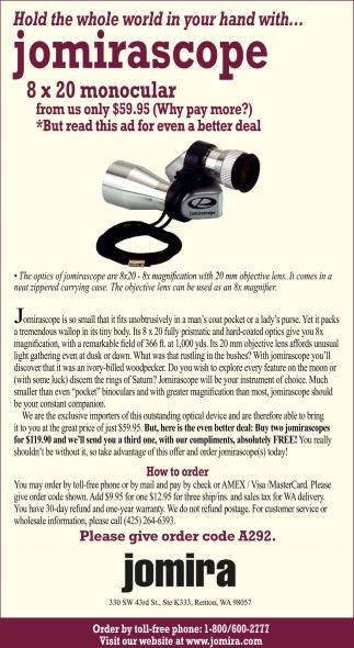 Jomirascope