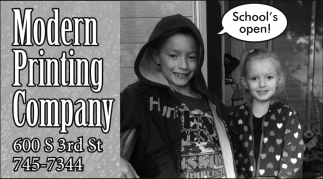 School's Open!