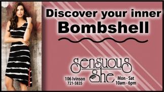 Discover your inner Bombshell