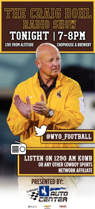 The Craig Bohl Radio Show!