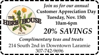 Join us for our annual Customer Appreciation Day!