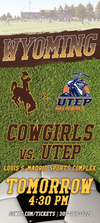 Cowgirls Vs. Utep