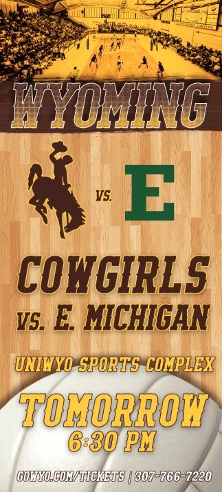 Cowgirls vs E. Michigan