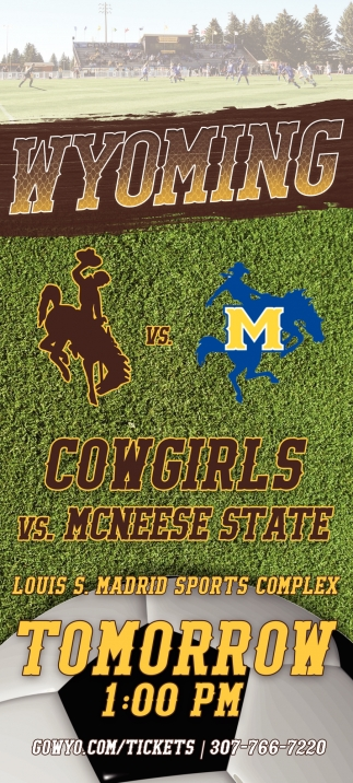 Cowgirls vs McNeese State