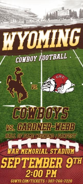 Wyoming Cowboy Football