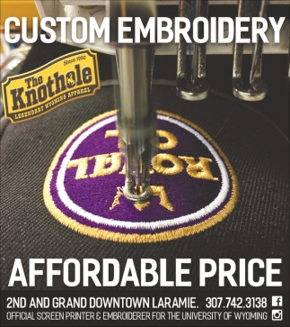 Custom Embroidery and the Best Wyoming Headwear in Laramie