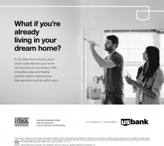 What if you're already living in your dream home?