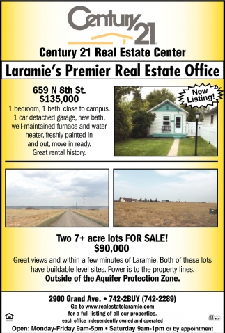 Laramie's Premier Real Estate Office