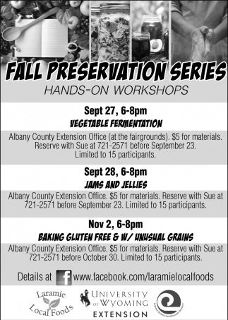 Fall Preservations Series