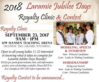 Laramie Jubilee Days Parade!