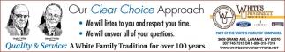 Our Clear Choice Approach