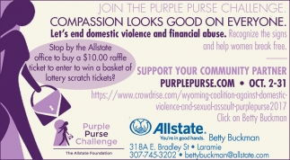 Join the Purple Purse Challenge