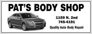 Quality Auto Body Repair