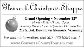 Glenrock Christmas Shoppe