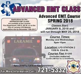 Advanced EMT Class