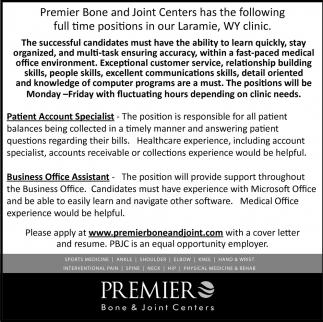 Patient Account Specialist