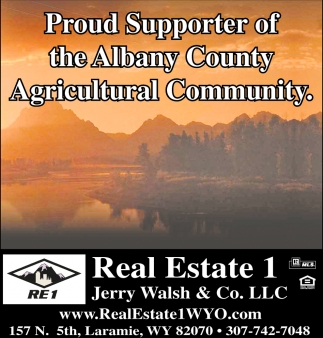 Proud Supporter of the Albany County Agricultural Community
