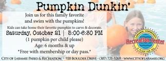 Pumpkin Dunkin'