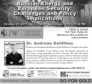 Russian Energy and European Security