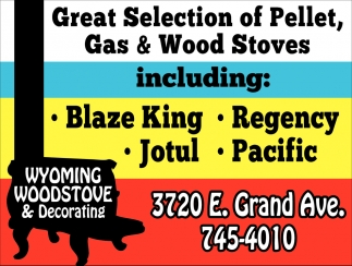 Great Selection of Pellet, Gas & Wood Stoves