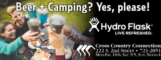 Beer + Camping? Yes, please!
