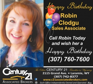 Robin Clodgu Sales Associate