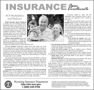 Insurance Open Enrollments