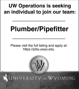 UW Operations Is Seeking An Individual To Join Our Team