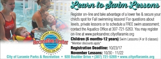 Learn To Swim Lessons