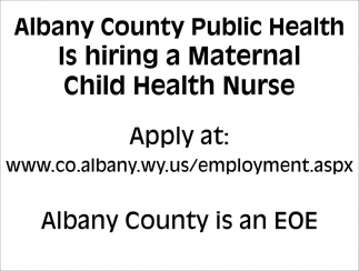 Is Hiring A Maternal Child Health Nurse