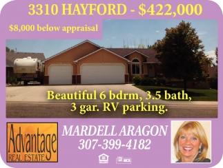 3310 Hayford - $422,00
