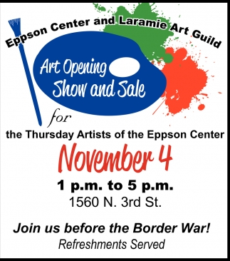 Art Opening Show And Sale