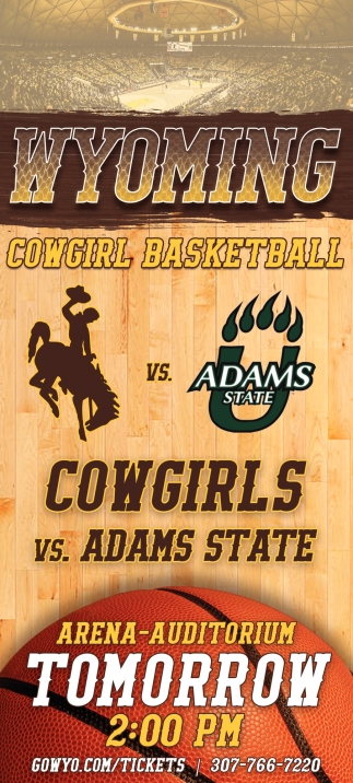 Cowgirls Vs. Adams State