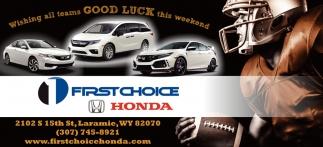 First Choice Honda