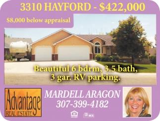 3310 Hayford- $422,000