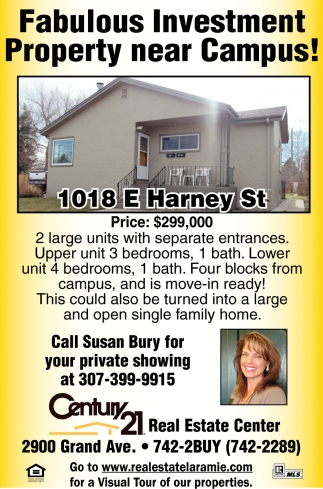 Fabulous Investment Property  Near Campus!